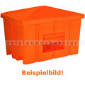 Streugutbehälter Salzkontor Heilbronn ohne Auslauf orange 550 L