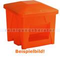 Streugutbehälter Salzkontor Mannheim ohne Auslauf orange 400 L