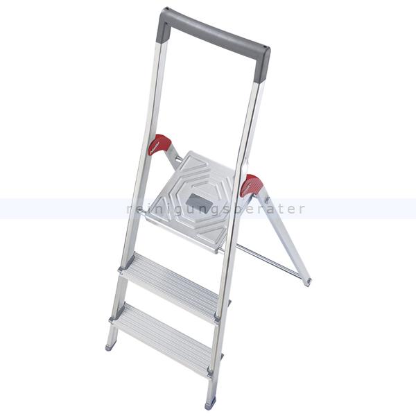 stufen stehleiter hailo profiline 150 3 alu stufen. Black Bedroom Furniture Sets. Home Design Ideas
