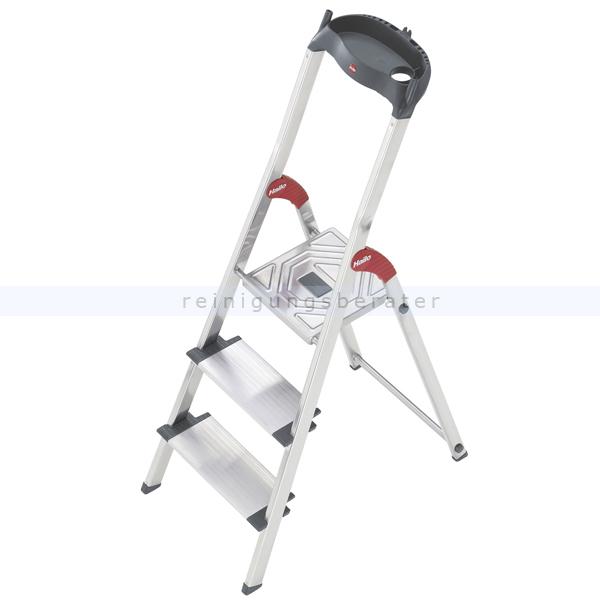 stufen stehleiter hailo profiline 150 xxl 3 xxl alu stufen. Black Bedroom Furniture Sets. Home Design Ideas