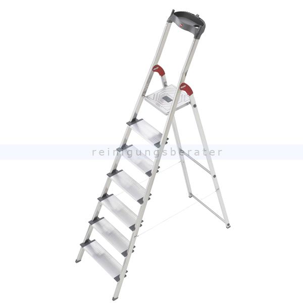 stufen stehleiter hailo profiline 150 xxl 7 xxl alu stufen. Black Bedroom Furniture Sets. Home Design Ideas
