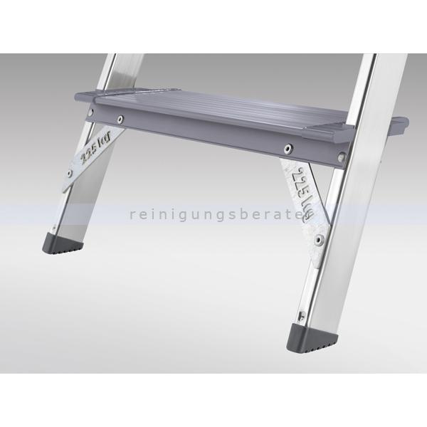stufen stehleiter hailo profiline 225 xxr 5 xxl alu stufen. Black Bedroom Furniture Sets. Home Design Ideas