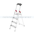 Stufen Stehleiter Hailo ProfiLine S 150 XXL, 4 Stufen
