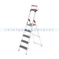 Stufen Stehleiter Hailo ProfiLine S 225 XXR, 5 Stufen