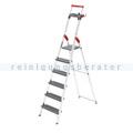 Stufen Stehleiter Hailo ProfiLine S 225 XXR, 6 Stufen