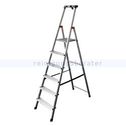Stufen Stehleiter Krause Safety Aluminium 6 Stufen