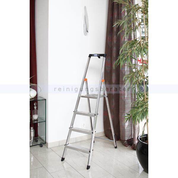 stufen stehleiter krause safety aluminium 8 stufen. Black Bedroom Furniture Sets. Home Design Ideas