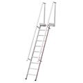 Stufenanstieg Hymer mit Plattform 12 Stufen