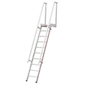 Stufenanstieg Hymer mit Plattform 5 Stufen