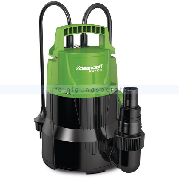 Tauchpumpe Cleancraft SCWP 7514 mit automatischer Betrieb durch einstellbare Schaltung 7520100