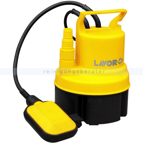 Lavor EDP 5000 Klarwasserpumpe Tauchpumpe zum Wasserabsaugen aus Becken, Pools, Fässern etc. 0.013.0101