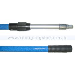 Teleskopstangen Autopflege Glasfaser-Alu PRO 2x1,5 m blau