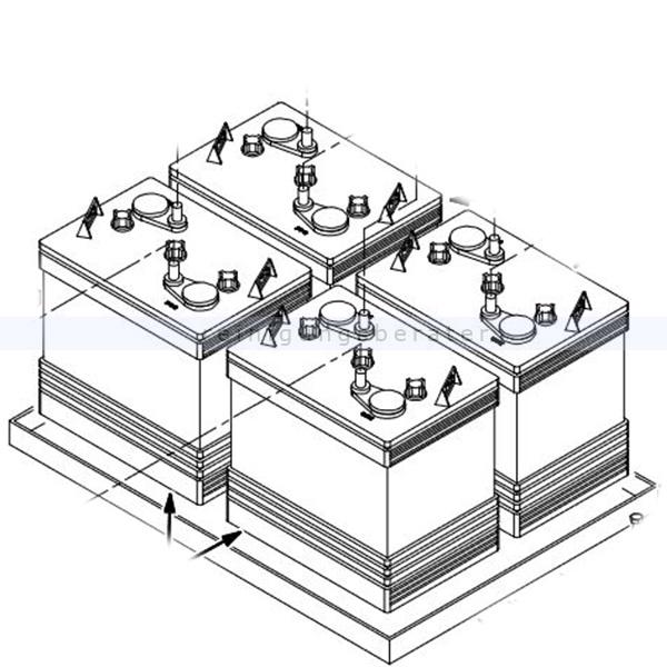 Tennant Ladegerät für Scheuersaugmaschine T7