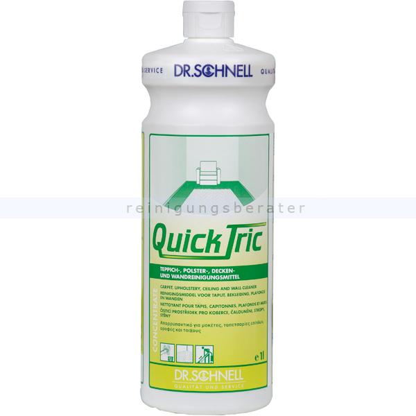 Dr. Schnell Qick Tric Konzentrat 1 L Teppichreiniger Teppich-und Polsterreiniger 00634