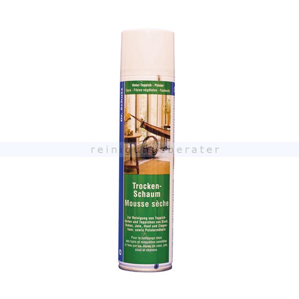 Teppichreiniger Dr. Schutz Trockenschaum 400 ml Pflegemittel für Naturfasern und Teppiche 1012040063