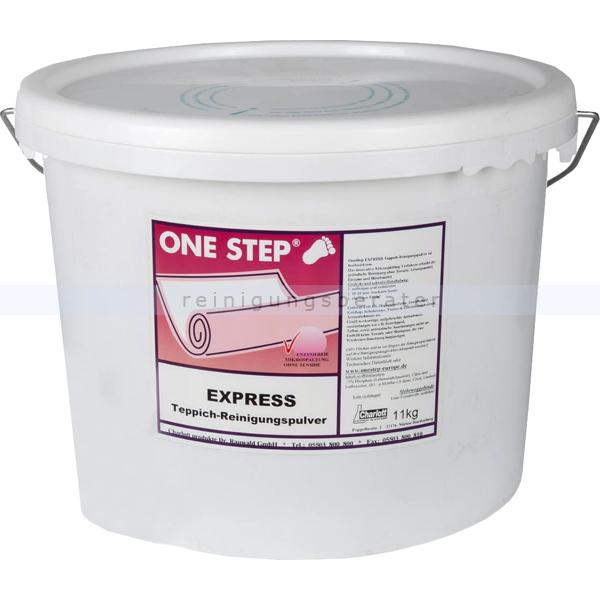 Teppichreiniger One Step Express Teppich Pulver 10 kg