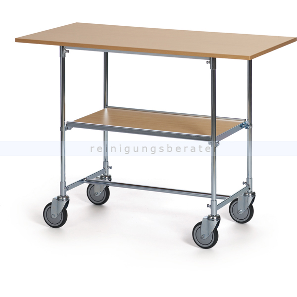 Helge Nyberg Tischwagen, Groß Buche, max. Last 100 kg Tischwagen mit Holzlaminat Buche, Maße: 1200x600x900 mm 24173612