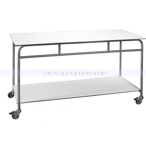 Tischwagen Novocal ATE150F-2 Arbeits- & Ablegetisch fahrbar Arbeits- und Ablegetisch, fahrbar, 2 Böden