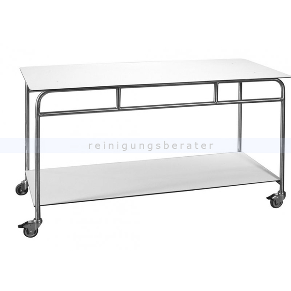 Tischwagen Novocal ATE200F-2 Arbeits- & Ablegetisch fahrbar Arbeits- und Ablegetisch, fahrbar, 2 Böden