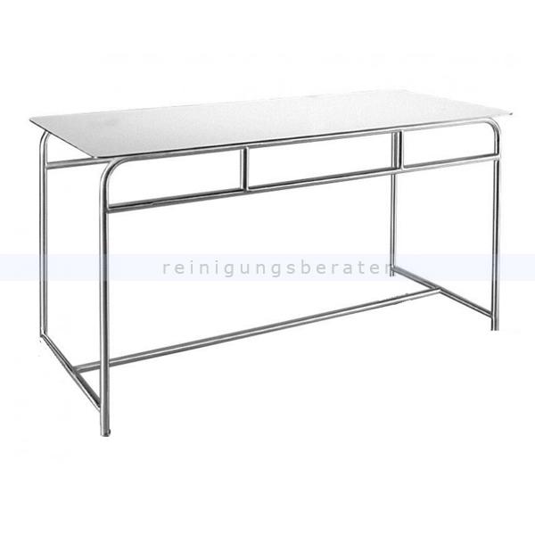 Tischwagen Novocal ATE250-2 Arbeits- und Ablegetisch stehend Arbeits- und Ablegetisch, Standmodell, 2 Böden