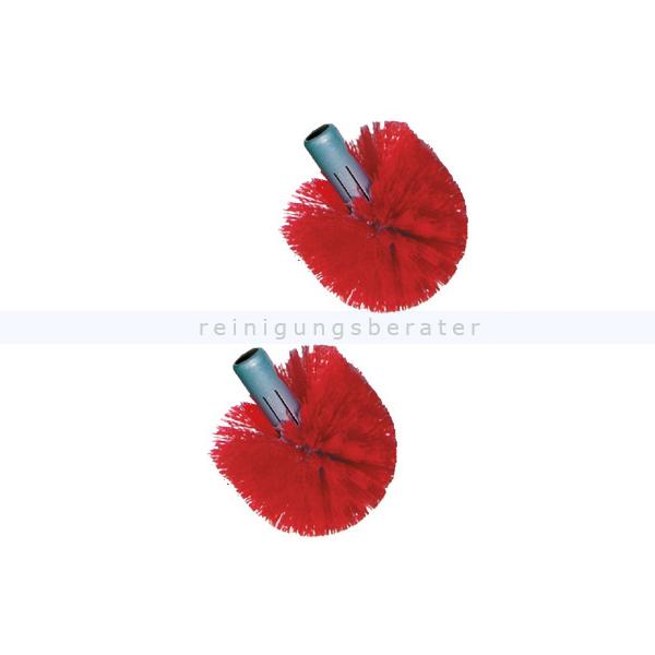 Unger BBRHR Toilettenbürste Ergo Ersatzkopf 2 Stück rot Ersatzbürstenkopf für die Unger Ergo Toilettenbürste