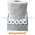 Toilettenpapier 3-lagig Hochweiß aus Zellstoff 72 Rollen