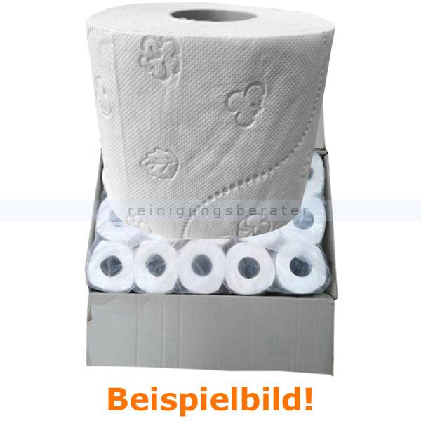 Toilettenpapier 3-lagig weiß Zellstoff 60 Rollen B-Ware