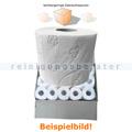 Toilettenpapier 3-lagig weiß Zellstoff 80 Rollen B Ware