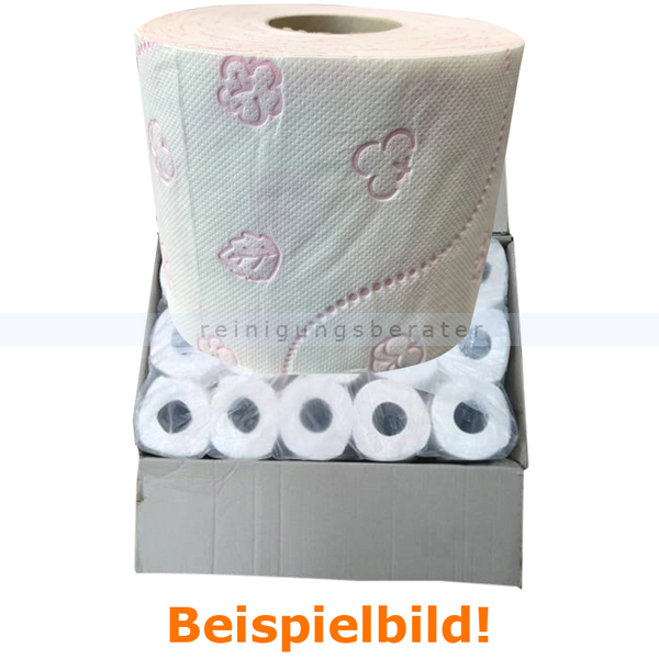 Toilettenpapier 4-lagig weiß Zellstoff 60 Rollen B-WARE