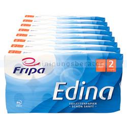 Toilettenpapier Fripa Edina hochweiß 2-lagig