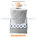Toilettenpapier Fripa Edina weiß 3-lagig