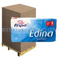 Toilettenpapier Fripa Edina weiß 3-lagig, Palette