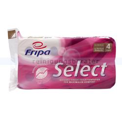 Toilettenpapier Fripa Select 100% Zellstoff 4-lagig