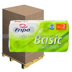 Toilettenpapier Fripa Tissue Basic 2-lagig, Palette