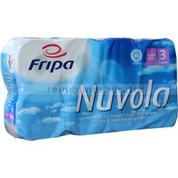 Toilettenpapier Fripa Tissue Nuvola hochweiß 3-lagig 8er