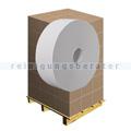 Toilettenpapier Großrolle 2-lagig Recycling weiß, Palette