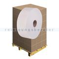 Toilettenpapier Großrolle 2-lagig Zellstoff hochweiß, Palette