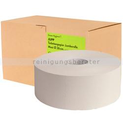 Toilettenpapier Großrolle Green Hygiene JUPP 2-lagig Palette