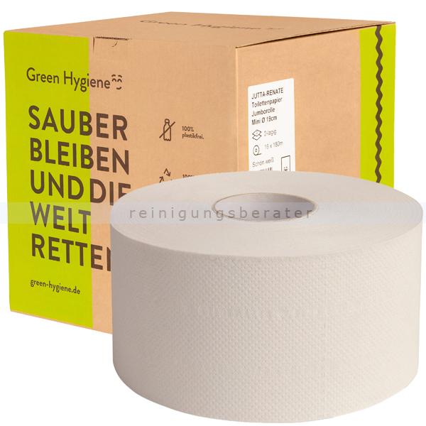 Toilettenpapier Großrolle Green Hygiene JUTTA 2-lagig Pal.