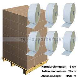 Toilettenpapier Großrolle hochweiß 2-lagig Palette