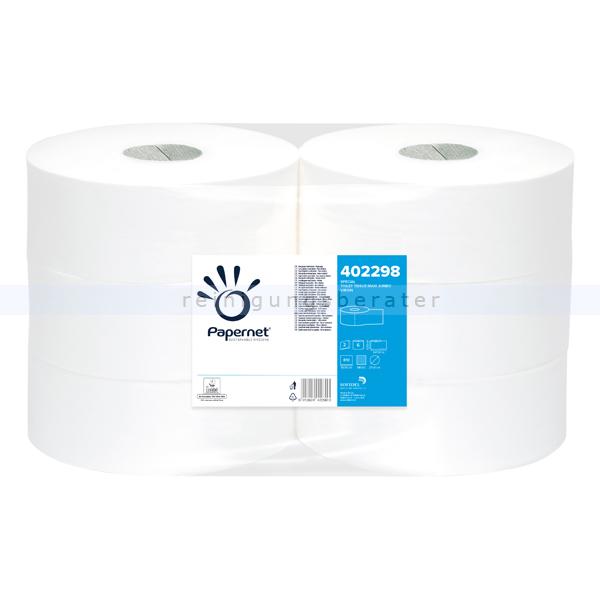 Toilettenpapier Großrolle Tissue weiß 2-lagig