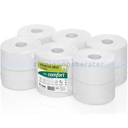 Toilettenpapier Großrolle Wepa Centerfeed Recycling hochweiß
