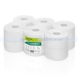 Toilettenpapier Großrolle Wepa comfort Recycling hochweiß