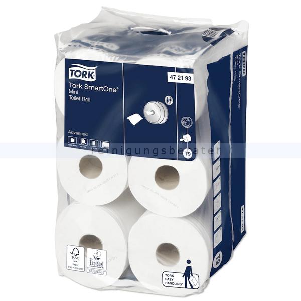 Toilettenpapier Lotus SmartOne mini 2-lag. Tissue weiß 111m