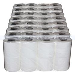 Toilettenpapier weiß Zellstoff 3-lagig Großpaket