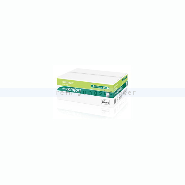 Toilettenpapier Wepa Comfort Compact hochweiß