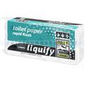 Toilettenpapier Wepa liquify Kleinrollen 2-lagig weiß