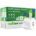 Toilettenpapier Wepa Satino comfort Großrolle hochweiß 2-lag