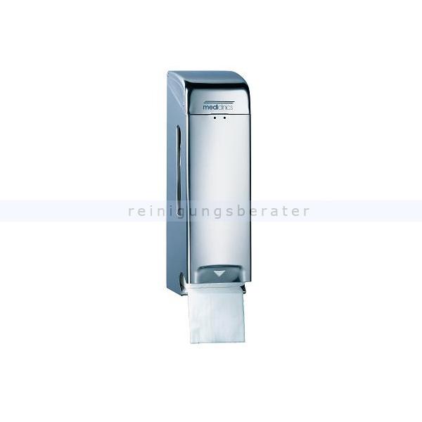 Toilettenpapierspender All Care dreifach Edelstahl hochglanz