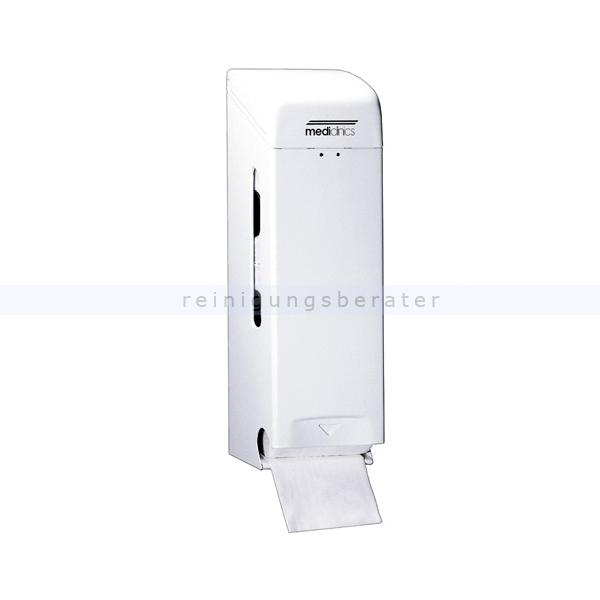 Toilettenpapierspender All Care dreifach Stahlblech weiß